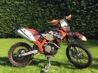 KTM 450 EXC 2011 ENDURO ROAD LEGAL