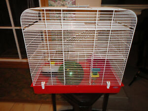 Large Three Story Hagen  Hamster Cage With Accessories..Pristine