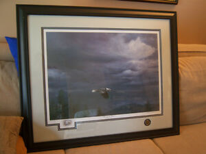 "Signed and Numbered Print by Michael Pape ""Through The Storm"""