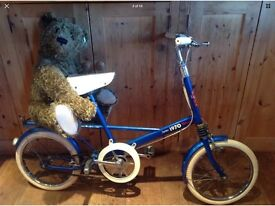 Vintage Childs bicycle Moulton