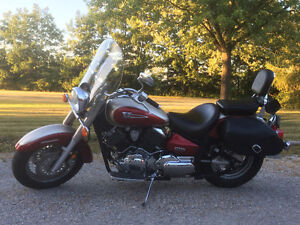 Yamaha V-Star Classic Safetied and E-tested!
