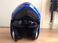 Caberg flip front full face crash helmet, size : XL