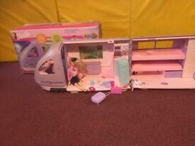 Barbie travel train.