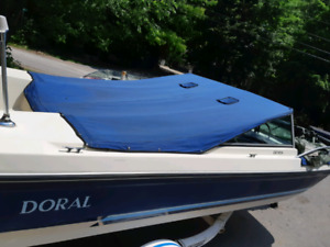 16ft boat with trailer an motor