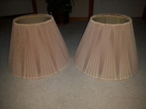 Lamp shades for sale. 2 for $5.00
