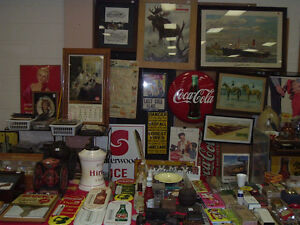 Sat., Oct. 8th,  Ancaster Nostalgia Show - vendors buying