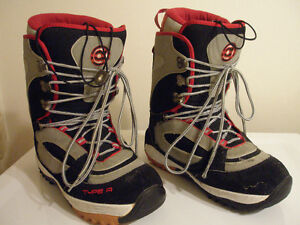 Snowboards Boots from US Men's sizes 4 up to Men's 12