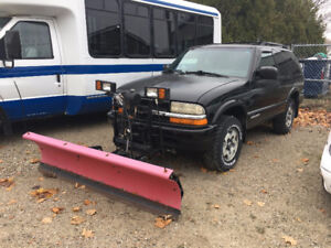 2005 Chevrolet Blazer LS WITH WESTERN PLOW