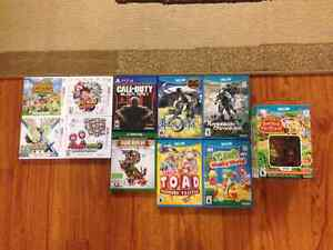 Xbox one, PS4, Wii U and 3DS games! Xenoblade, Call of Duty, etc