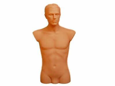 Mannequin - Male Torso With The Head Presentation Uniforms Clothes Suit D