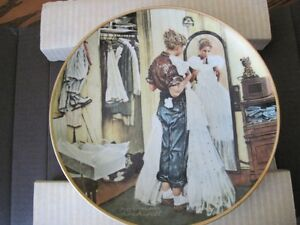 Norman Rockwell Collector Plates London Ontario image 3