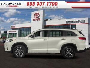 2018 Toyota Highlander XLE AWD  - $350.31 B/W