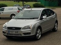 2007 FORD FOCUS 1.6 TDCI TITANIUM X 60K FULLY LOADED MUST SEE VERY LOW MILES PX