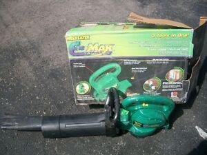 aspirateur de feuilles