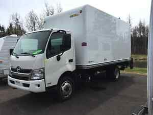 2014 Hino 195 Cab Chassis Diesel with 16' Box Power rear lift