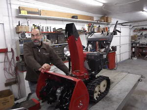 Experienced Service for all Honda Snowblowers Moose Jaw Regina Area image 4