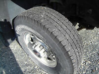 FOUR MICHELIN TRUCK TIRES FOR SALE