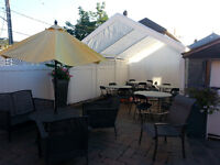 Chairs ,Tables, Table clothes for rent   Chan Party Rentals !!!!