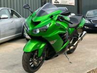 2012 Kawasaki ZX 1400 ZZR1400 GEN2 Inline Four FCF ABS Tourer Petrol Manual