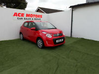 2015 CITROEN C1 1.0 VTi FEEL 5 DOOR HATCHBACK,34000 MILES WITH FULL SERVICE HIST