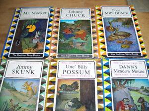 6 CHILDREN'S BOOKS BY THORNTON W. BURGESS