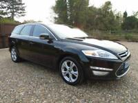 TOP SPEC 2012 62 FORD MONDEO 2.0 163 BHP DIESEL ESTATE * TITANIUM X * TOW BAR *