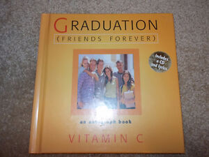 Graduation Autograph book with Friends Forever CD