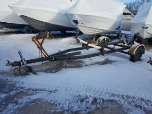 Used trailer blow out