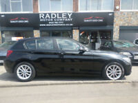 2014 BMW 116 1.6TD ( bhp ) EfficientDynamics 5DR 64 REG Diesel Black