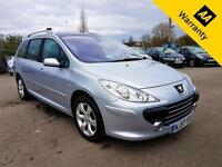 2007 57 PEUGEOT 307 1.6 SW SE HDI 5D 108 BHP!P/X WELCOME! 2 OWNERS! TIMING BELT!