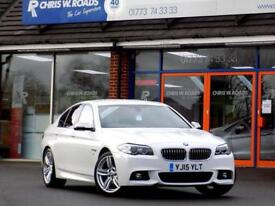 2015 15 BMW 5 SERIES 2.0 520D M SPORT 4D 188 BHP DIESEL