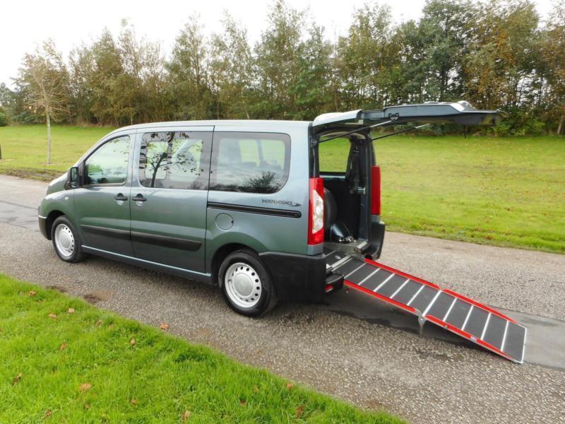 2011 Peugeot Expert Tepee 1.6 Hdi 6 SEATS 33K Wheelchair Accessible Vehicle WAV