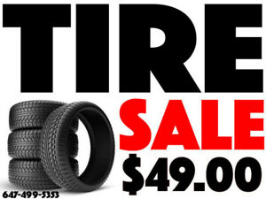 TIRE SALE - FREE INSTALLATION & BALANCING - ALL SEASON WINTER
