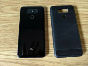 Unlocked LG G6 plus EXTRAS and Orig USB Charger and Cable