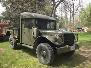 1955 Dodge M43 Military Army with Hydralic Dump