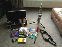 Alto Saxophone & Books/Kit