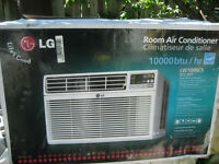 CLIMATISEUR LG / LG AIR CONDITINOR..10000 btu. NEW,NEUF
