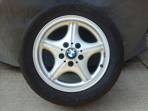 "COMPLETE SET of 16"" BMW WHEELS $200"