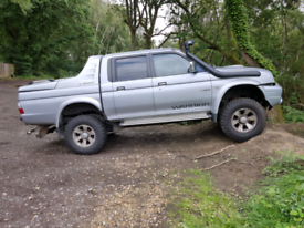 Mitsubishi warrior pickup. Offroad ready. Ready for work