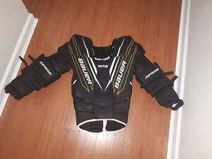 Bauer s170 XL sr chest protector $100
