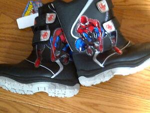 Spiderman Snow Boots