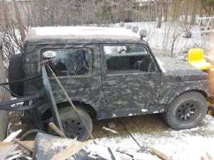 Bush jeep