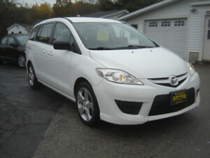 2010 MAZDA 5 WITH THIRD ROW SEATING  SOLD