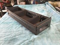 Storage trays,