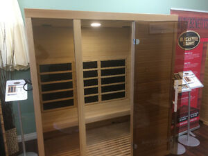 Blackstone four person far infrared sauna on sale