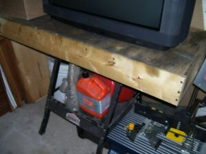 Portable Folding Work Bench! $20.00!