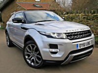 2011 RANGE ROVER EVOQUE 2.2 SD4 AUTO DYNAMIC LUX 4X4. FULLY LOADED !!
