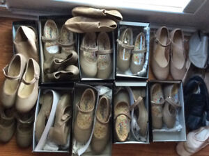 Dance shoes- Tap and Jazz and other