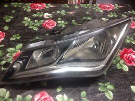 2013/2014/2015 Seat Leon MK3 headlight passenger side