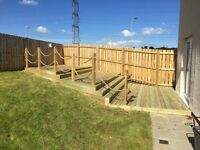 Decking and huts for you